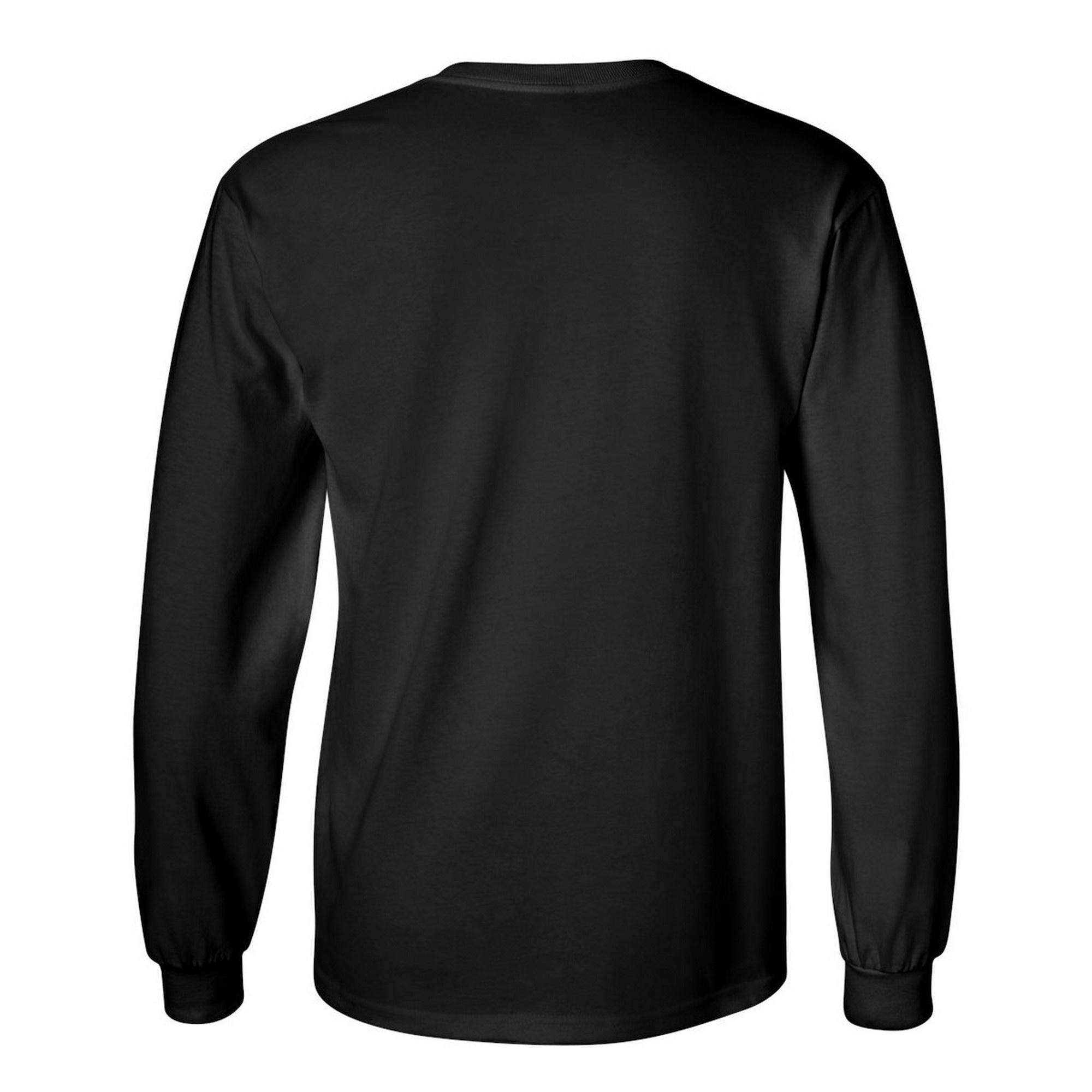 miniature 78 - T-shirt-uni-a-manches-longues-Gildan-100-coton-pour-homme-S-2XL-BC477
