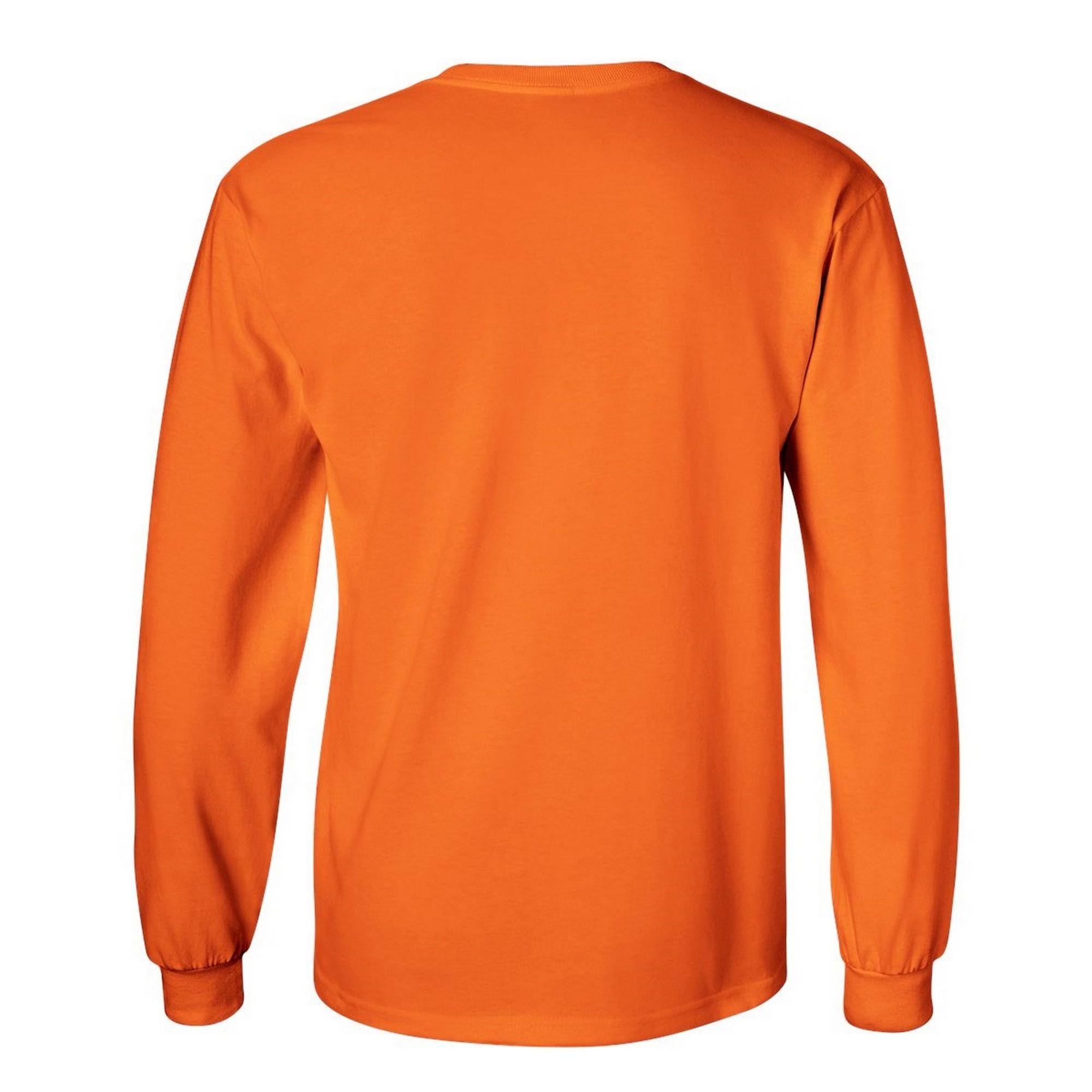 miniature 61 - T-shirt-uni-a-manches-longues-Gildan-100-coton-pour-homme-S-2XL-BC477