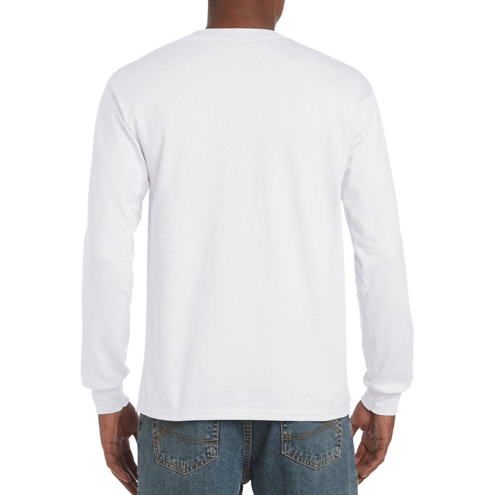 miniature 6 - T-shirt-uni-a-manches-longues-Gildan-100-coton-pour-homme-S-2XL-BC477