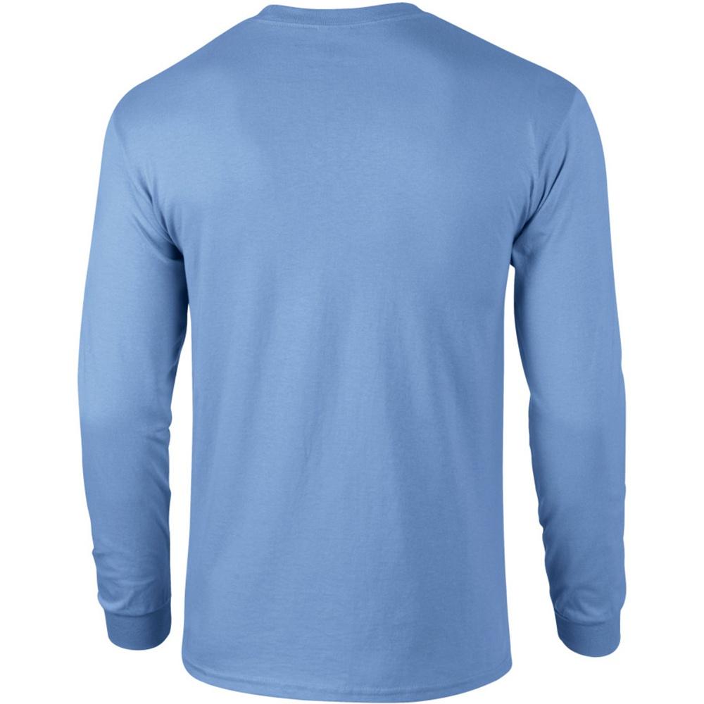 miniature 8 - T-shirt uni à manches longues Gildan, 100% coton, pour homme (S-2XL) (BC477)