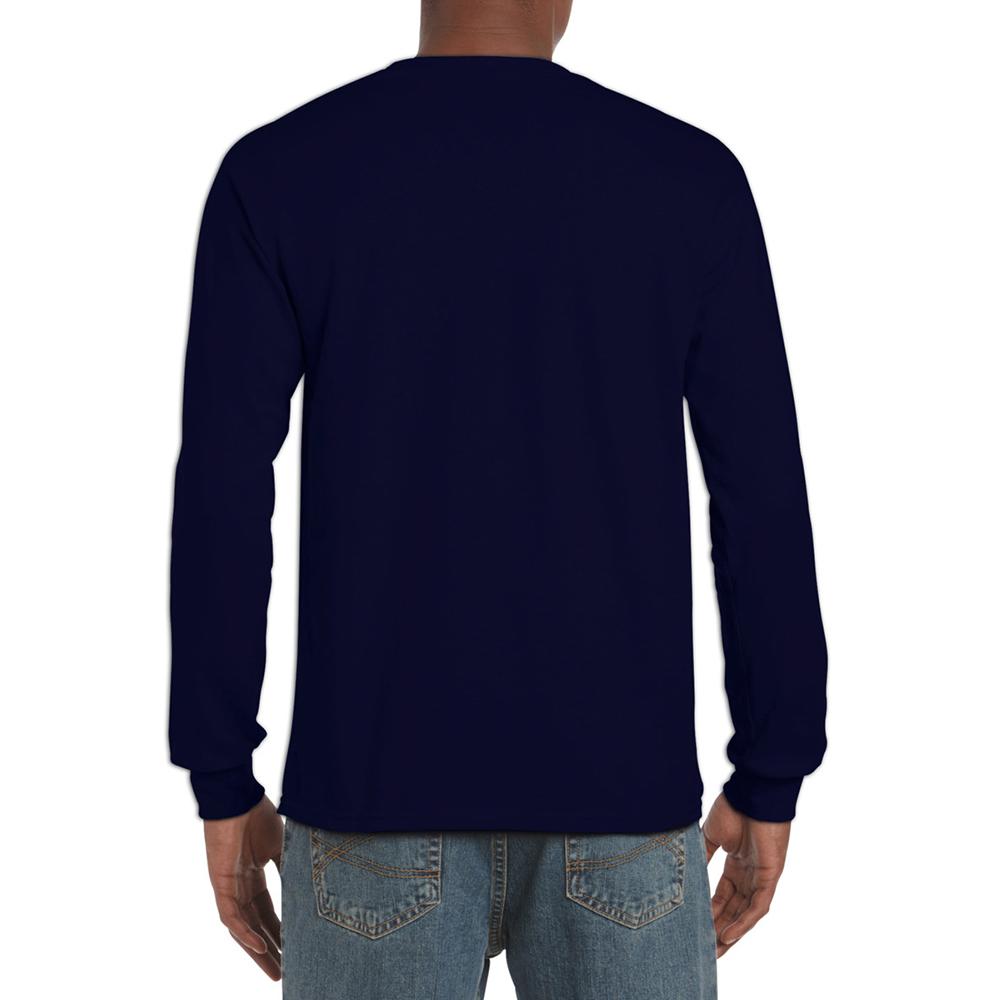 miniature 21 - T-shirt-uni-a-manches-longues-Gildan-100-coton-pour-homme-S-2XL-BC477