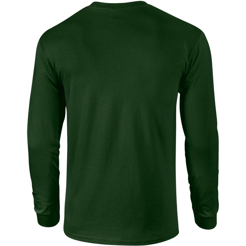 miniature 90 - T-shirt-uni-a-manches-longues-Gildan-100-coton-pour-homme-S-2XL-BC477
