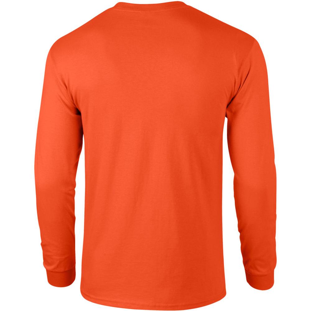 miniature 65 - T-shirt-uni-a-manches-longues-Gildan-100-coton-pour-homme-S-2XL-BC477