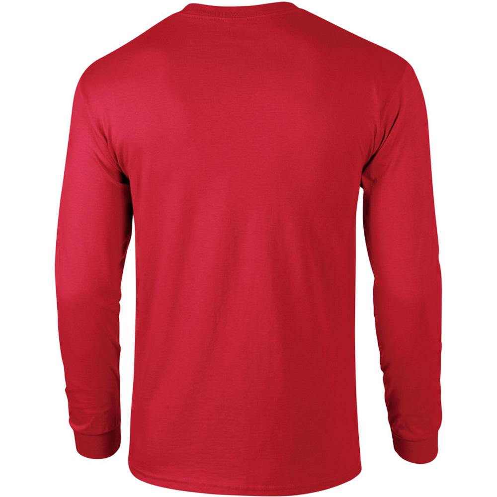 miniature 80 - T-shirt-uni-a-manches-longues-Gildan-100-coton-pour-homme-S-2XL-BC477