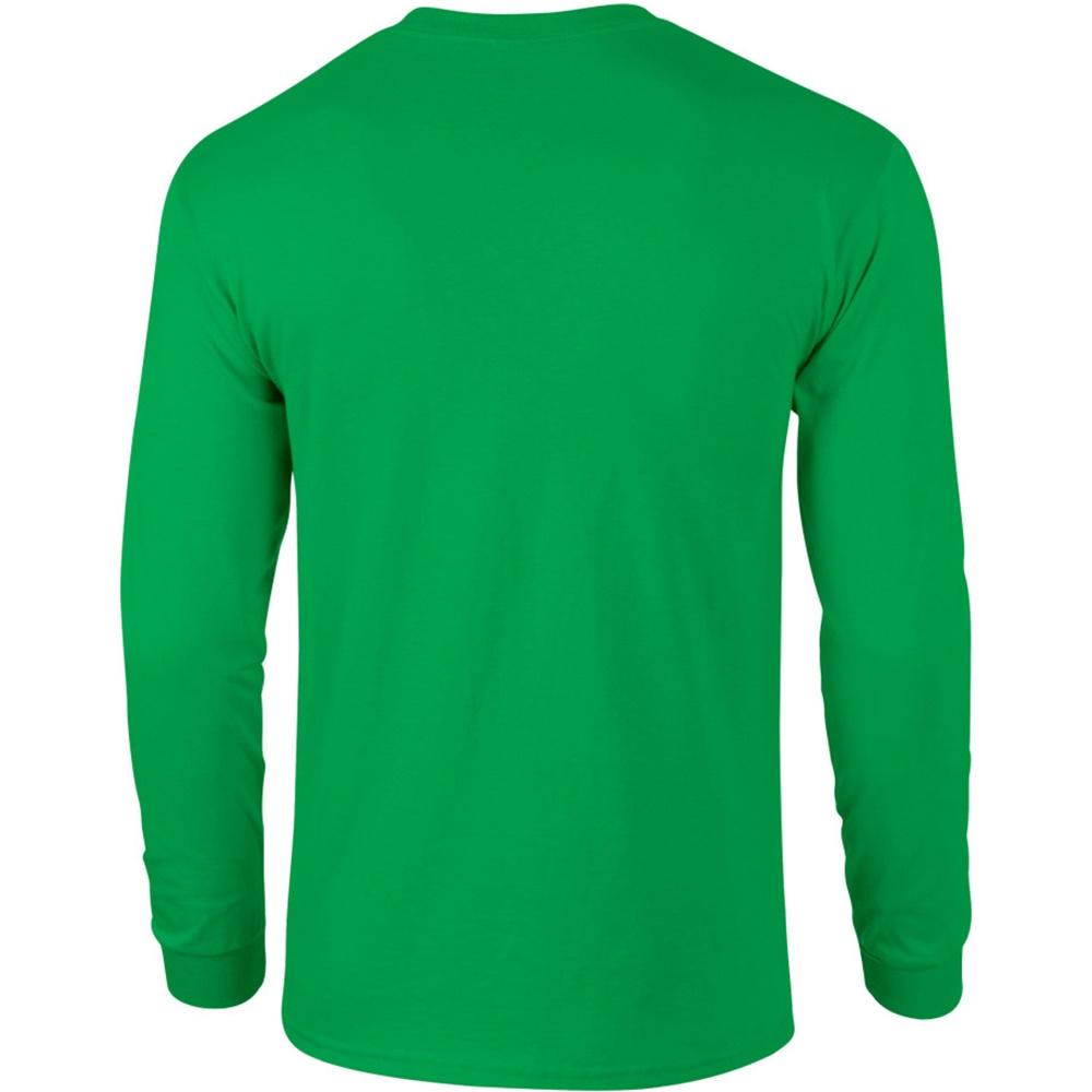miniature 44 - T-shirt-uni-a-manches-longues-Gildan-100-coton-pour-homme-S-2XL-BC477