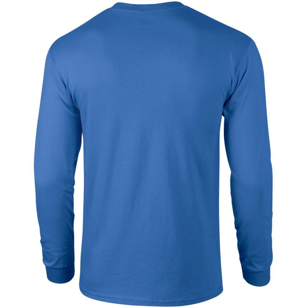 miniature 23 - T-shirt-uni-a-manches-longues-Gildan-100-coton-pour-homme-S-2XL-BC477