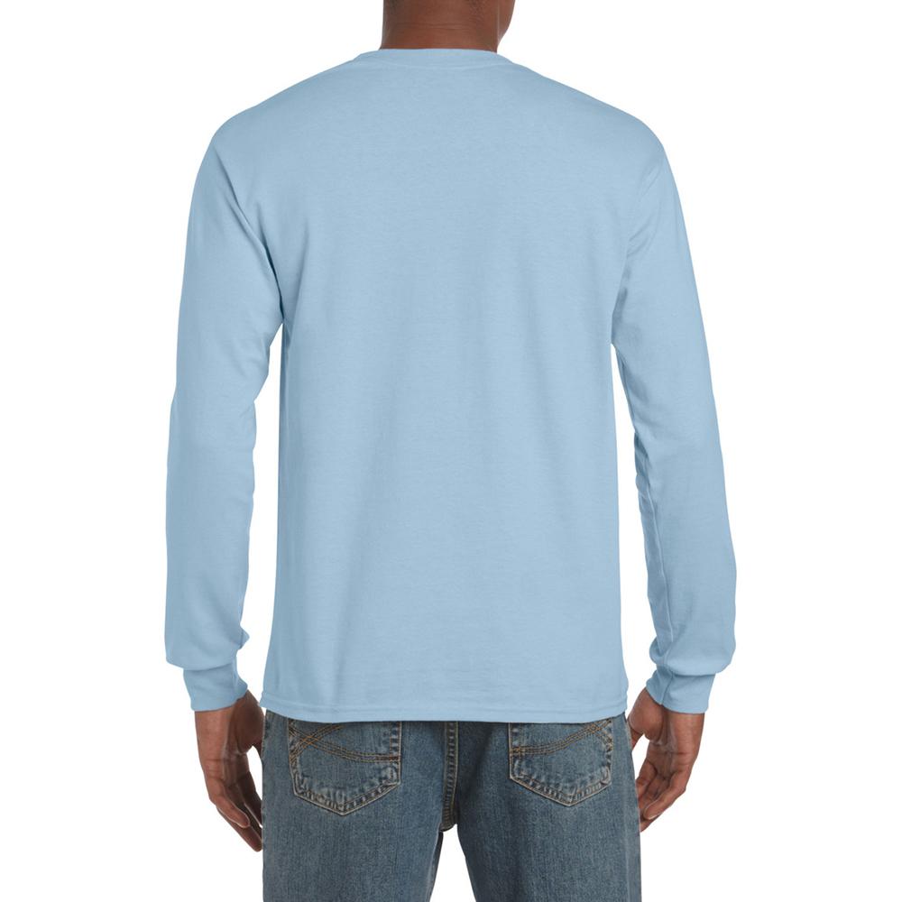 miniature 16 - T-shirt-uni-a-manches-longues-Gildan-100-coton-pour-homme-S-2XL-BC477
