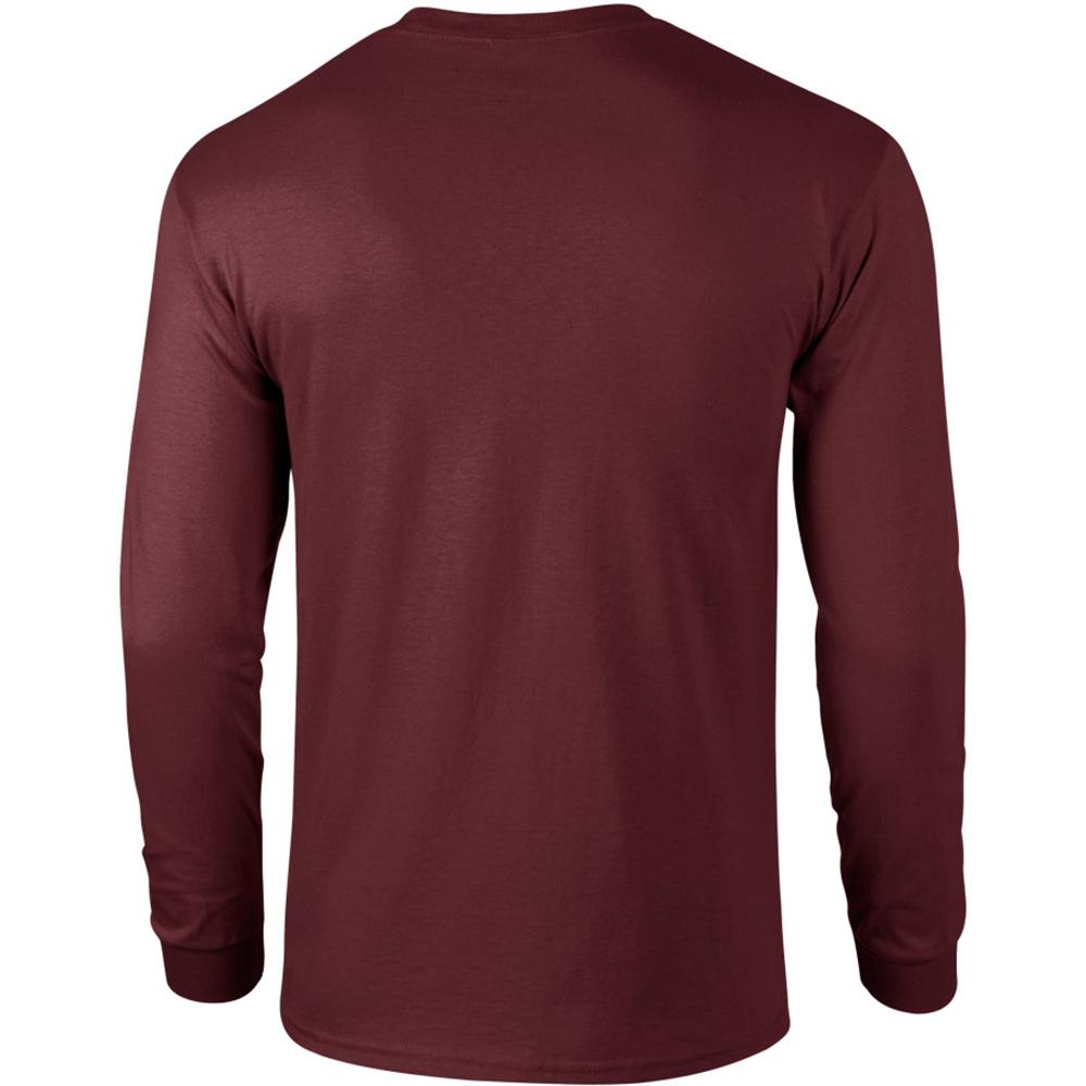 miniature 29 - T-shirt-uni-a-manches-longues-Gildan-100-coton-pour-homme-S-2XL-BC477