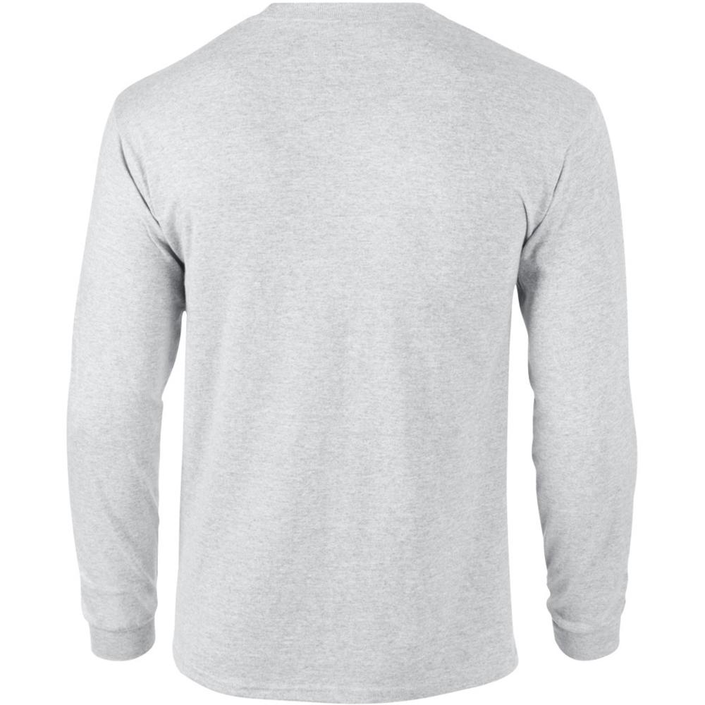 miniature 39 - T-shirt-uni-a-manches-longues-Gildan-100-coton-pour-homme-S-2XL-BC477