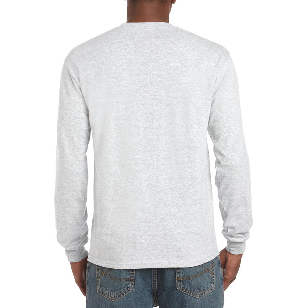 miniature 42 - T-shirt-uni-a-manches-longues-Gildan-100-coton-pour-homme-S-2XL-BC477
