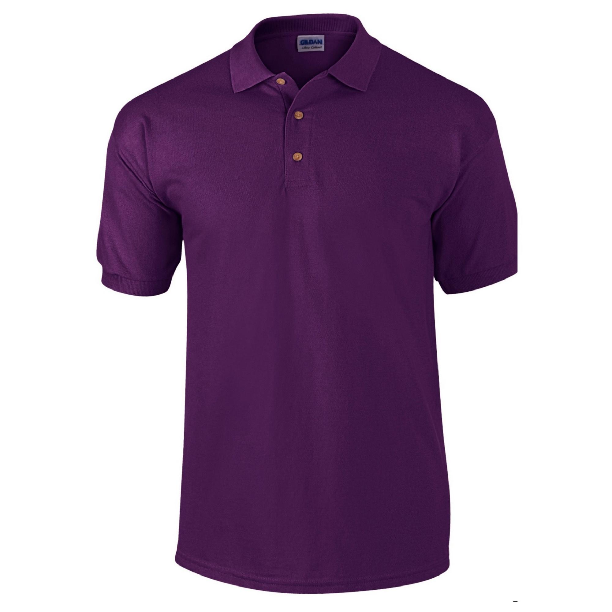 Polo en coton piqué Gildan pour homme (M) (Bleu) 3mtBJKPY