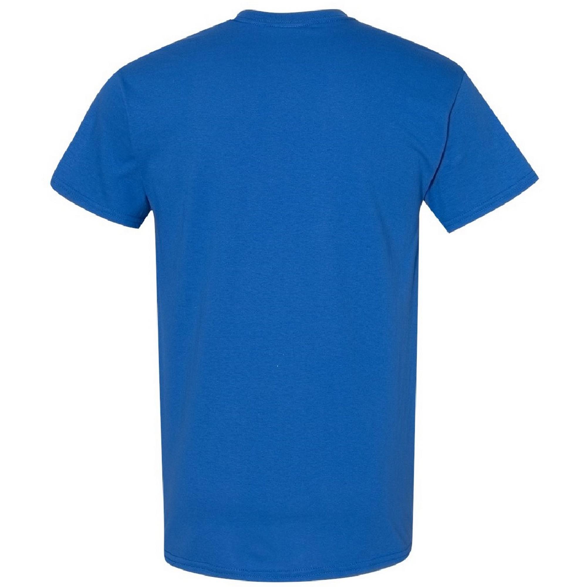 Gildan Mens Heavy Cotton Short Sleeve T-Shirt (5XL) (Royal)