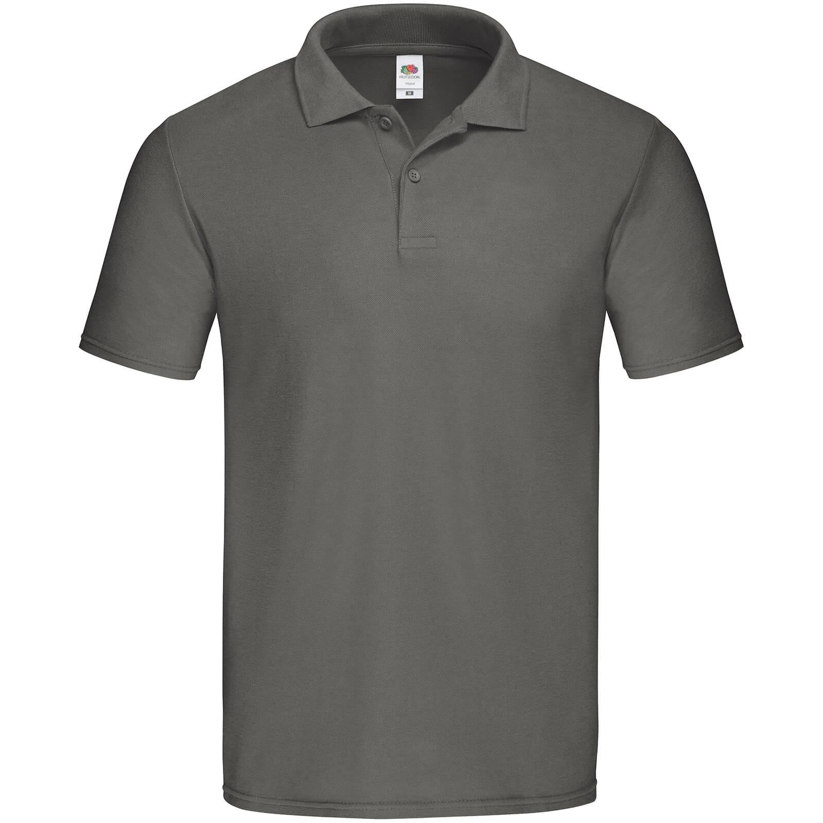 Fruit of the Loom Mens Original Polo Shirt (XXL) (Deep Navy)