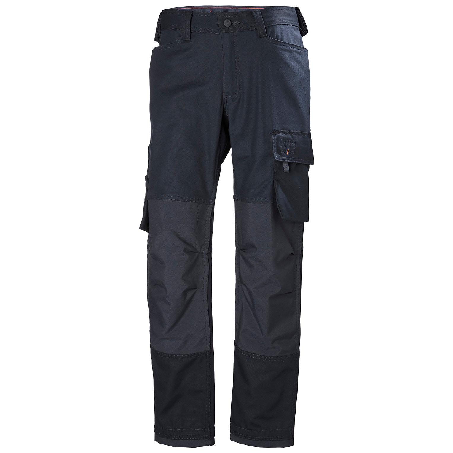Helly Hansen Mens Oxford Work Trousers (33R) (Navy)