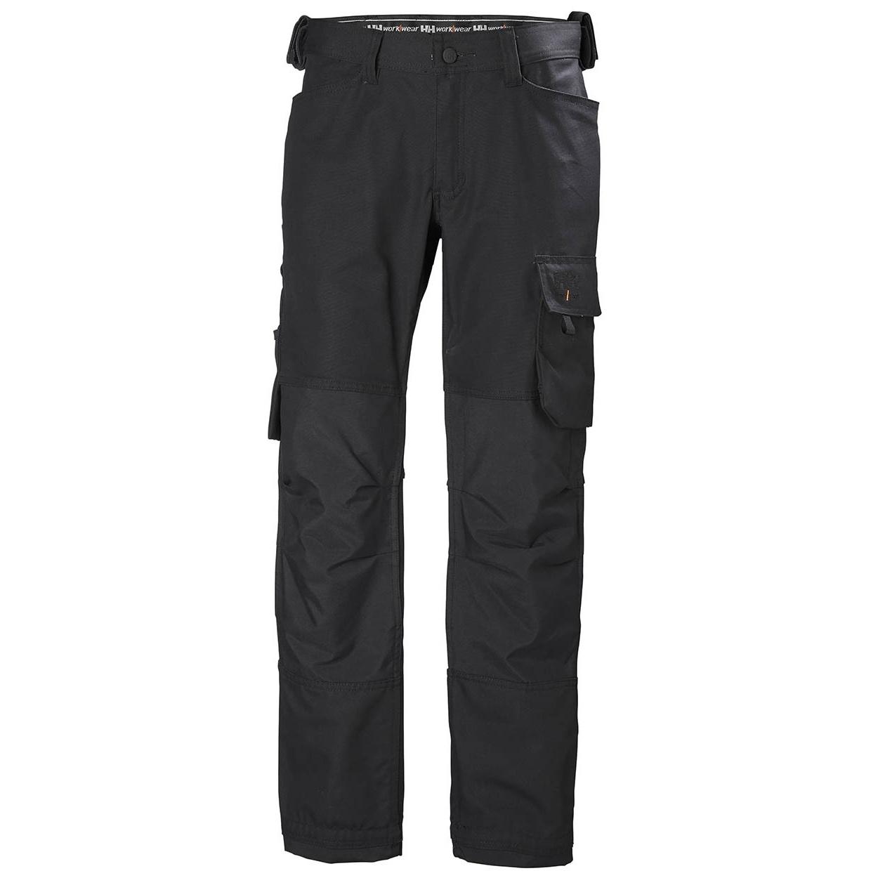Helly Hansen Mens Oxford Work Trousers (38R) (Black)