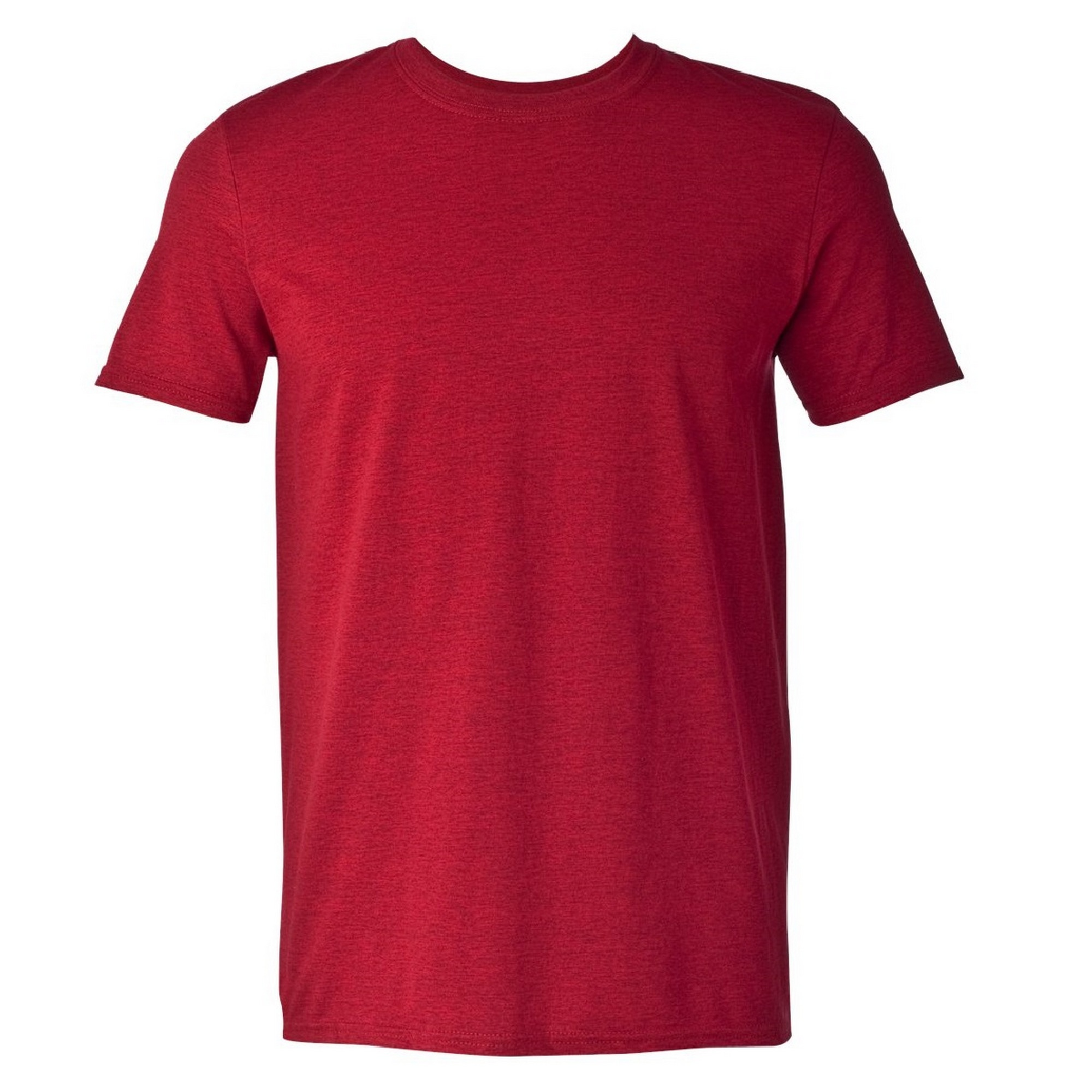 Gildan Mens Short Sleeve Soft-Style T-Shirt (XL) (Maroon)