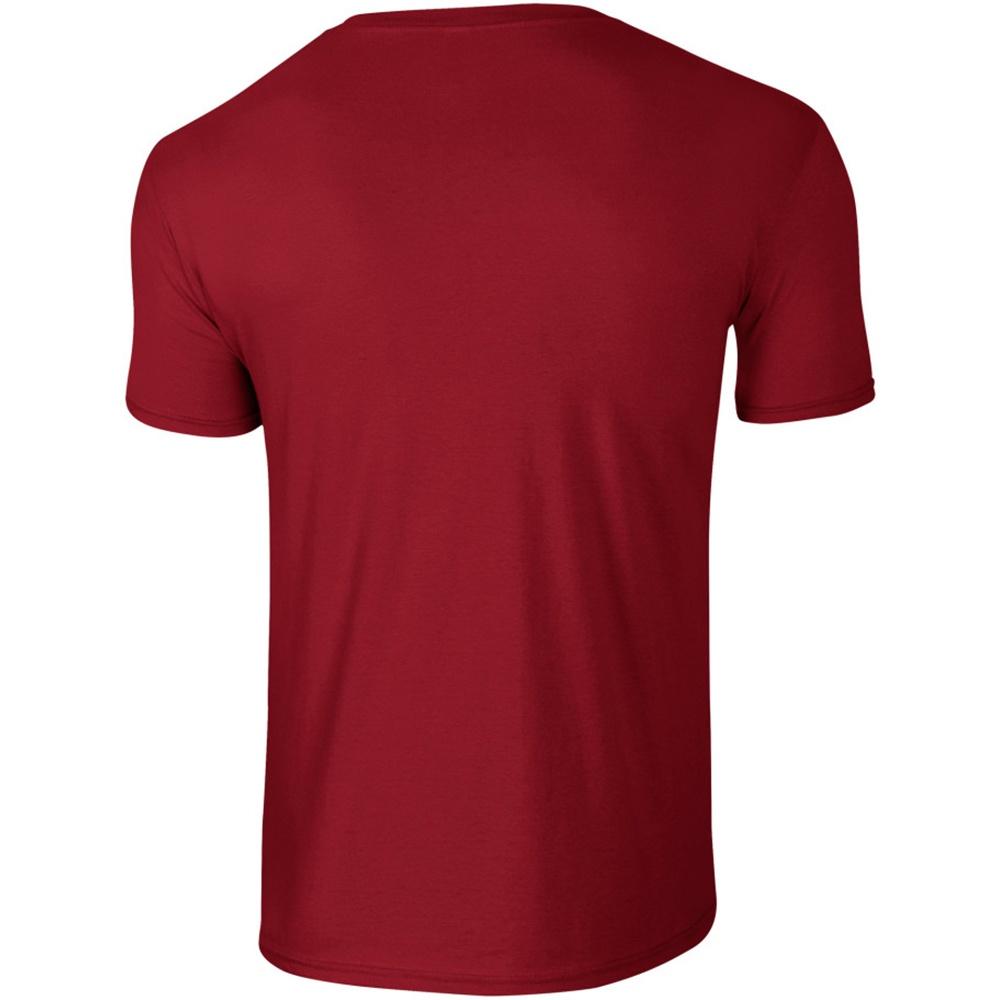 Gildan Mens Short Sleeve Soft-Style T-Shirt (XXL) (Heliconia)