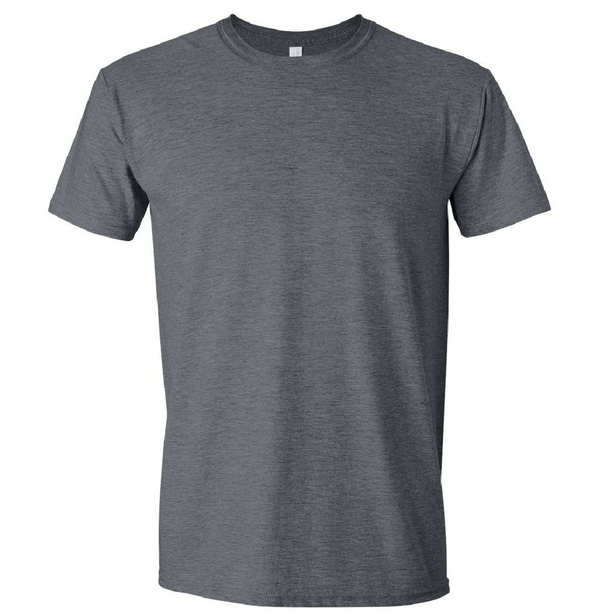 Gildan Mens Short Sleeve Soft-Style T-Shirt (S) (Dark Chocolate)