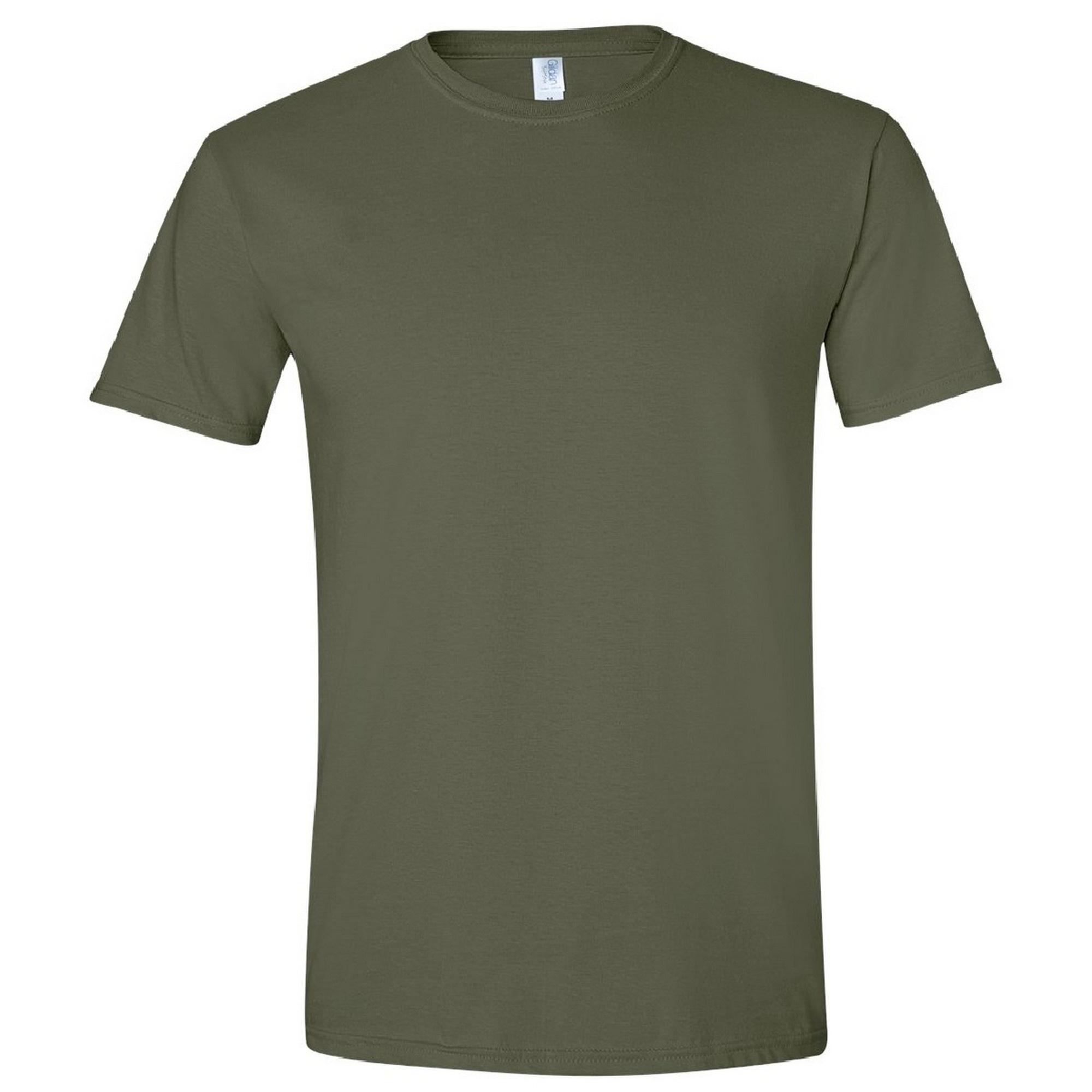 Gildan Mens Short Sleeve Soft-Style T-Shirt (XXL) (Tropical Blue)