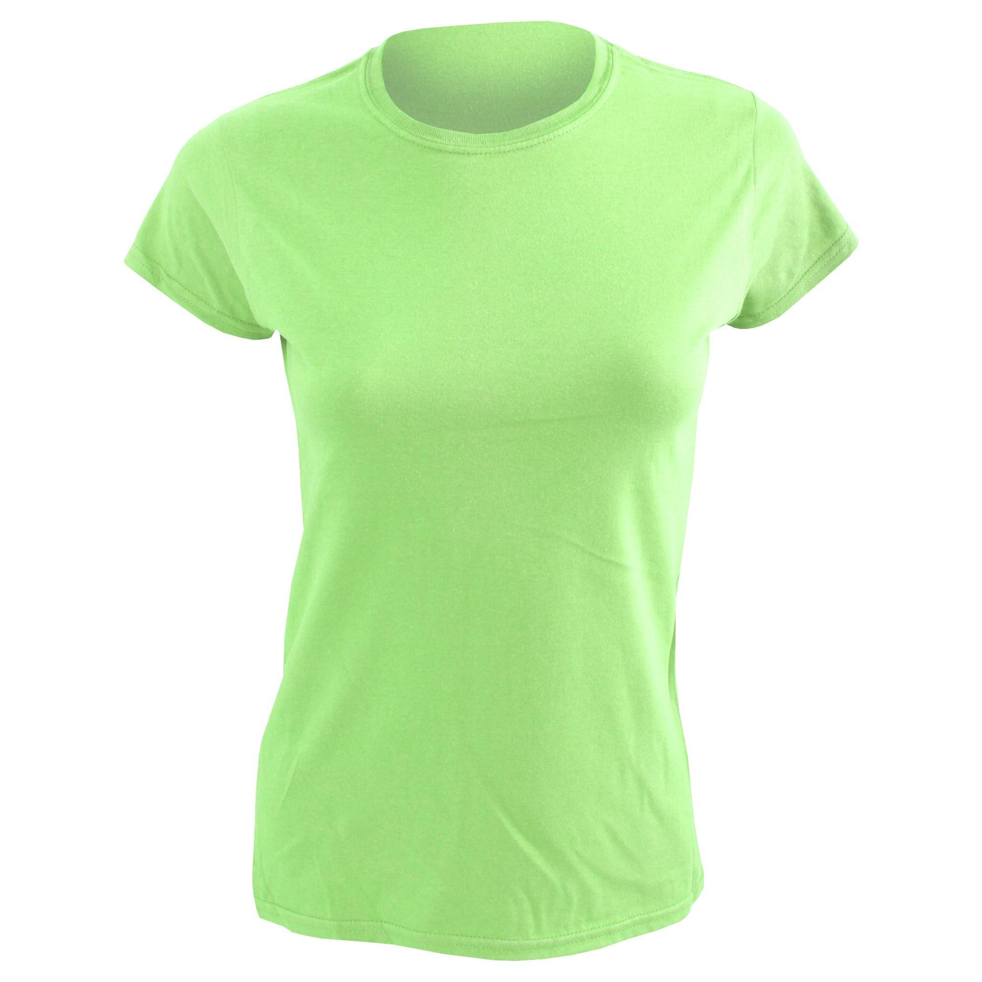 Gildan Ladies Soft Style Short Sleeve T-Shirt (XL) (Mint Green)