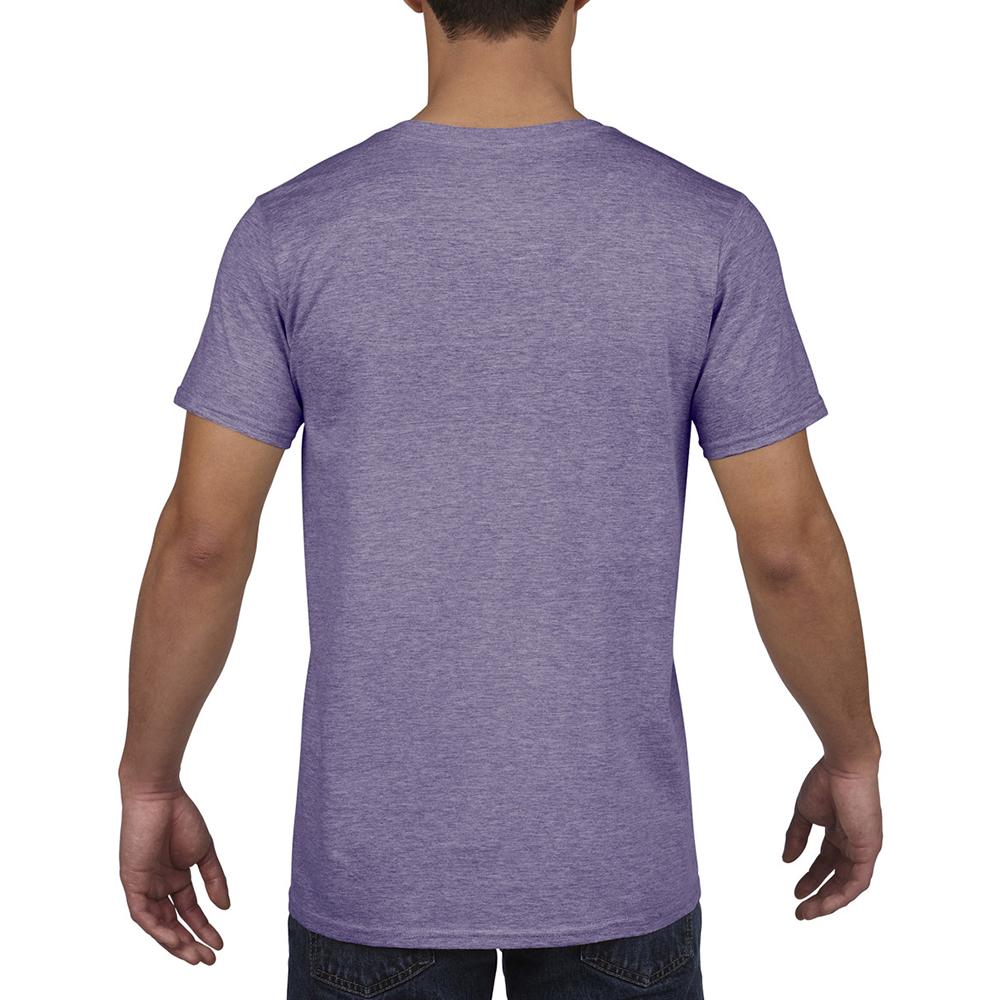 miniature 46 - T-shirt à manches courtes et col en V Gildan, 100% coton, pour homme (BC490)