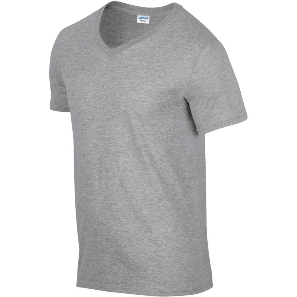 miniature 29 - T-shirt à manches courtes et col en V Gildan, 100% coton, pour homme (BC490)