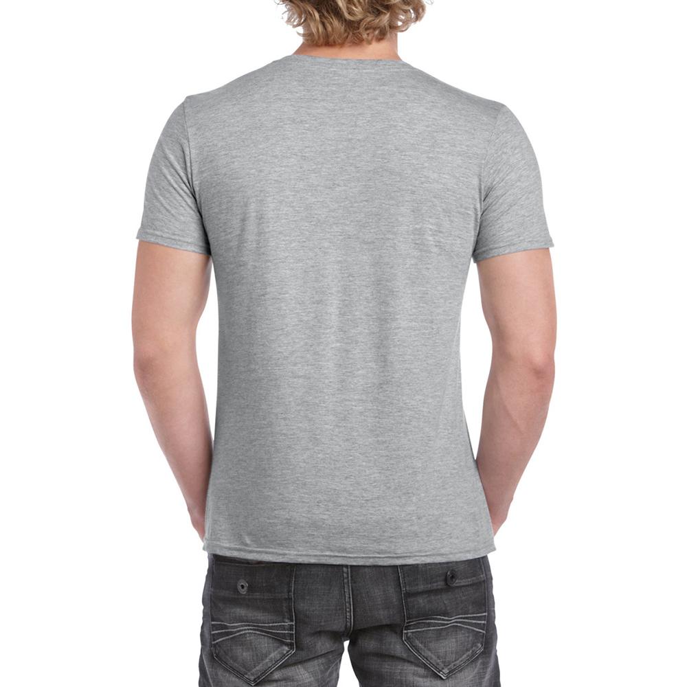 miniature 31 - T-shirt à manches courtes et col en V Gildan, 100% coton, pour homme (BC490)