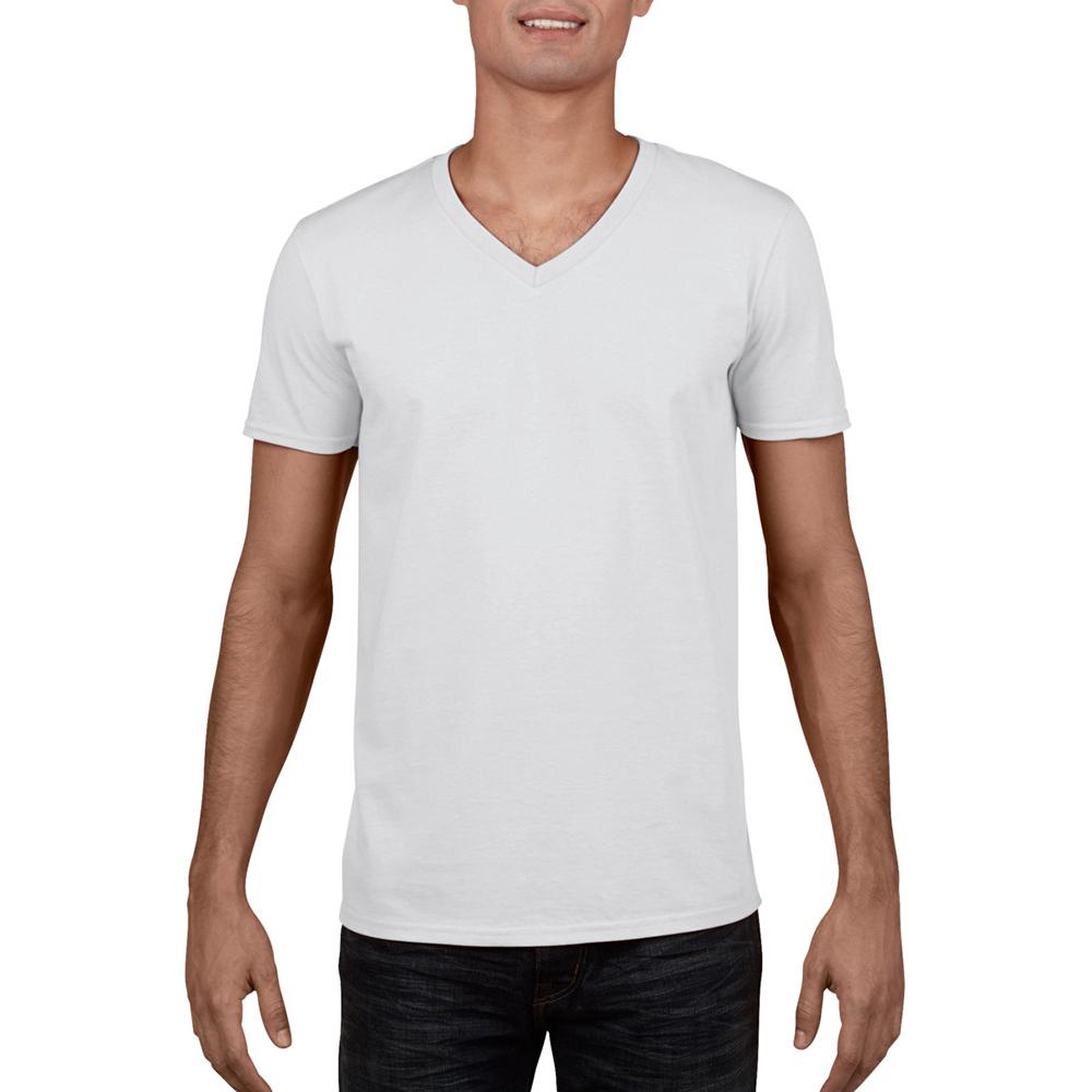 miniature 5 - T-shirt à manches courtes et col en V Gildan, 100% coton, pour homme (BC490)