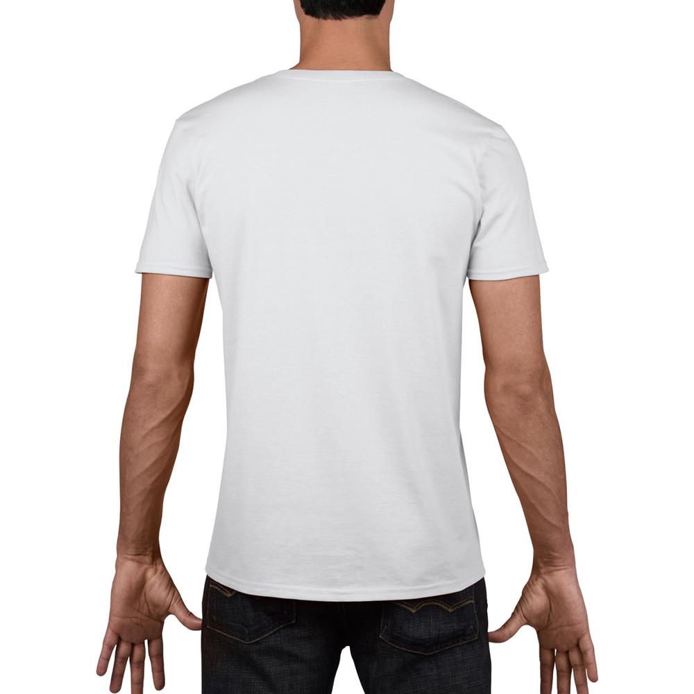 miniature 6 - T-shirt à manches courtes et col en V Gildan, 100% coton, pour homme (BC490)