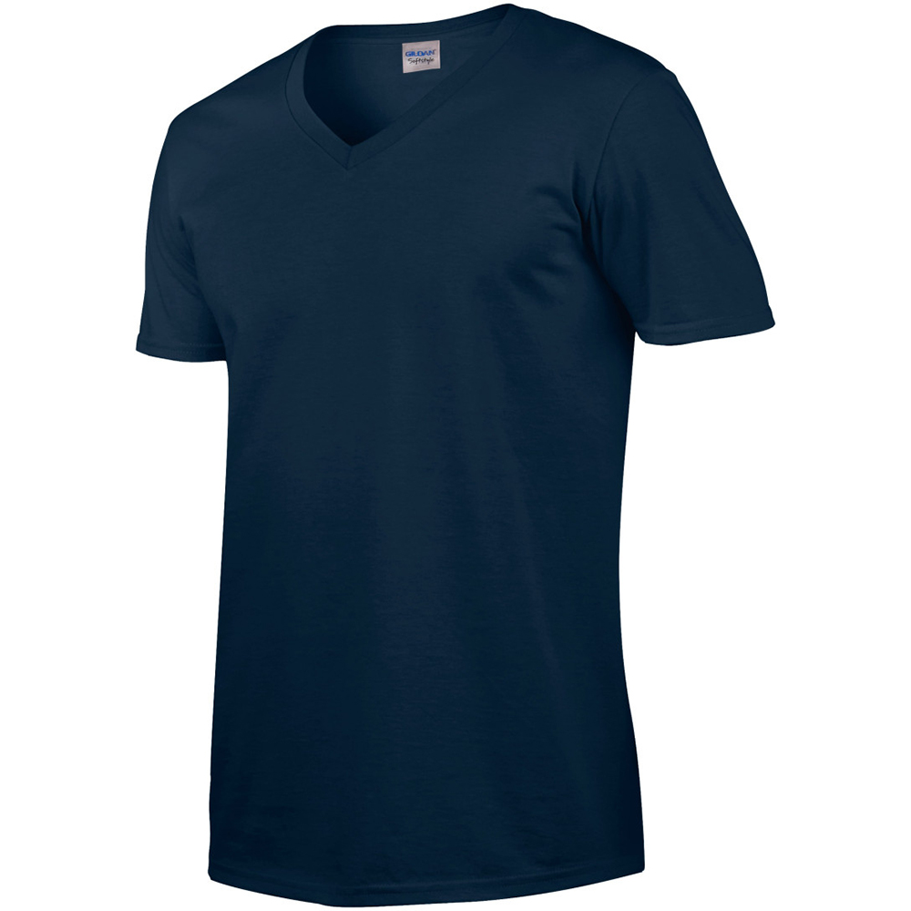 miniature 9 - T-shirt à manches courtes et col en V Gildan, 100% coton, pour homme (BC490)