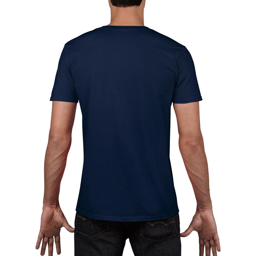 miniature 11 - T-shirt à manches courtes et col en V Gildan, 100% coton, pour homme (BC490)