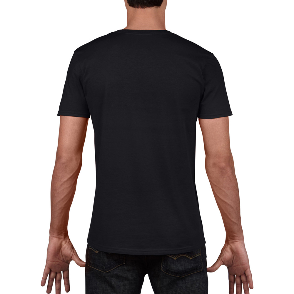 miniature 36 - T-shirt à manches courtes et col en V Gildan, 100% coton, pour homme (BC490)