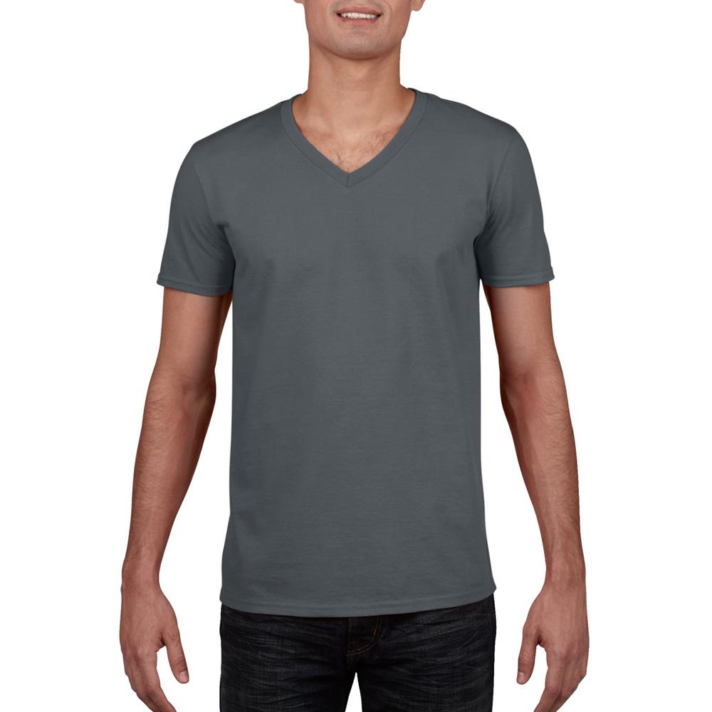 miniature 20 - T-shirt à manches courtes et col en V Gildan, 100% coton, pour homme (BC490)