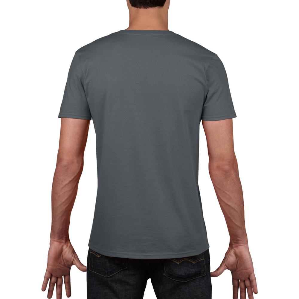 miniature 21 - T-shirt à manches courtes et col en V Gildan, 100% coton, pour homme (BC490)