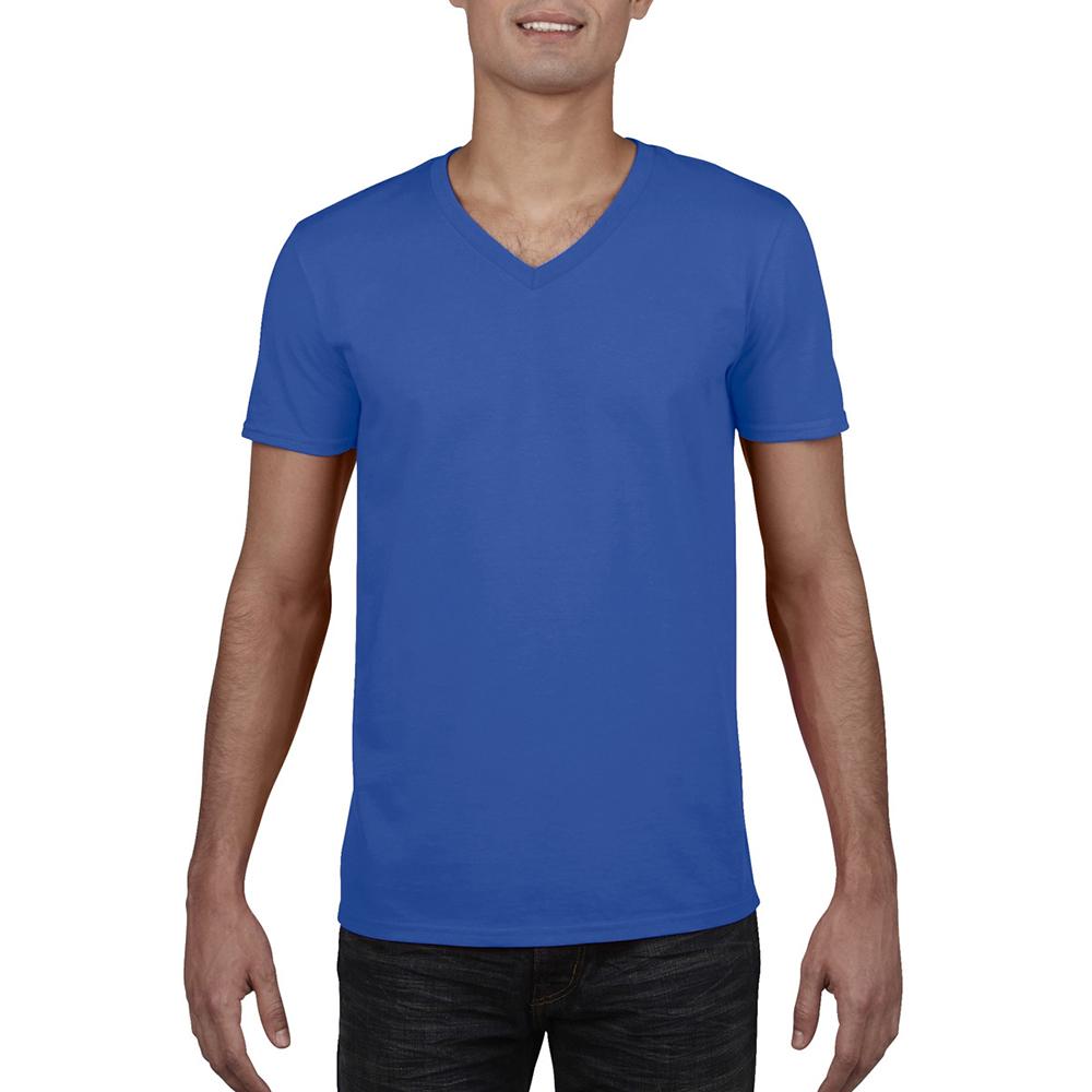 miniature 15 - T-shirt à manches courtes et col en V Gildan, 100% coton, pour homme (BC490)