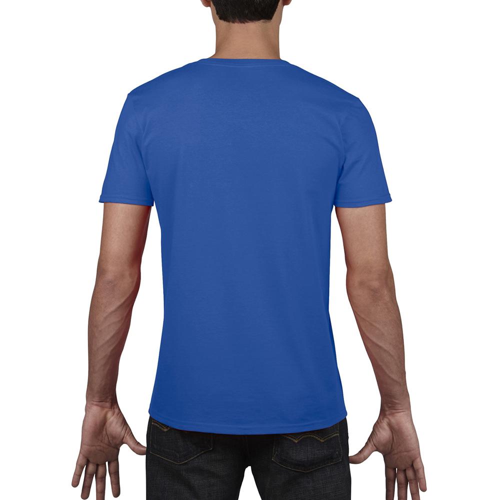 miniature 16 - T-shirt à manches courtes et col en V Gildan, 100% coton, pour homme (BC490)