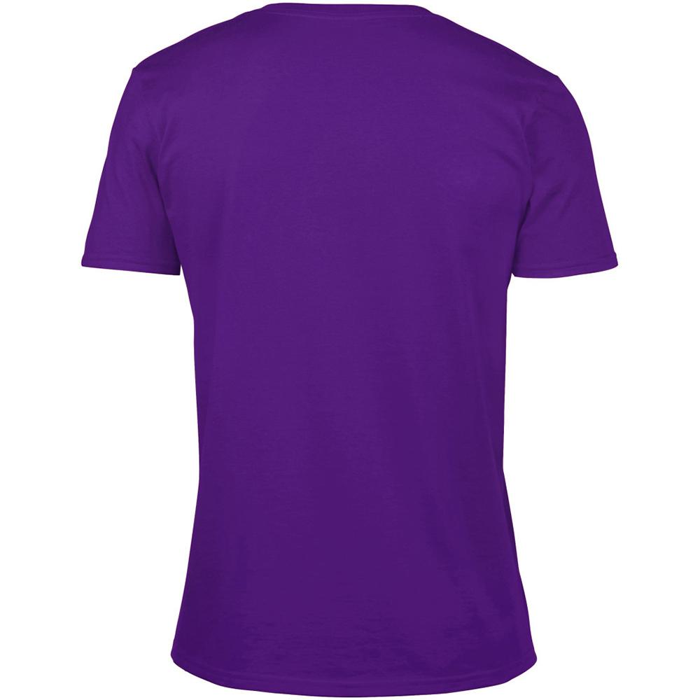 miniature 38 - T-shirt à manches courtes et col en V Gildan, 100% coton, pour homme (BC490)