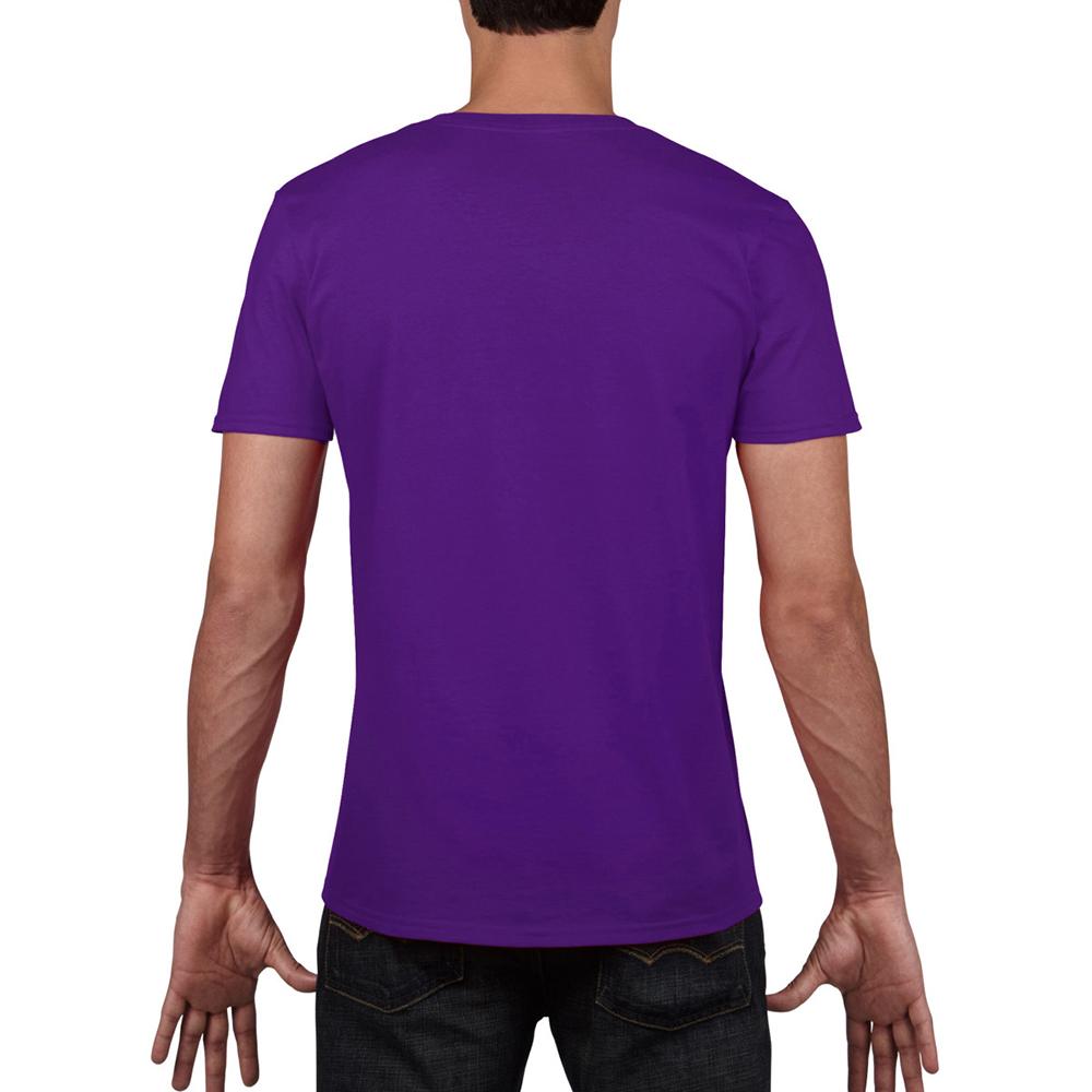 miniature 41 - T-shirt à manches courtes et col en V Gildan, 100% coton, pour homme (BC490)