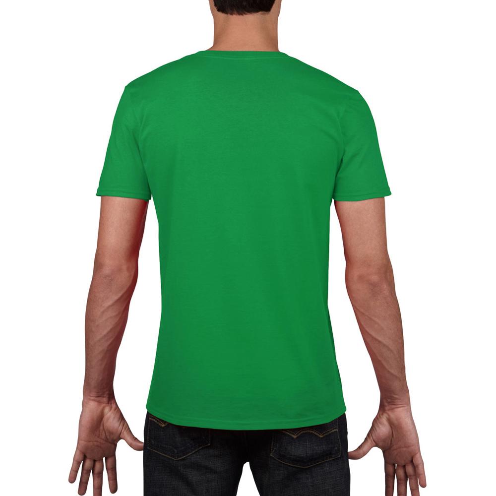 miniature 61 - T-shirt à manches courtes et col en V Gildan, 100% coton, pour homme (BC490)