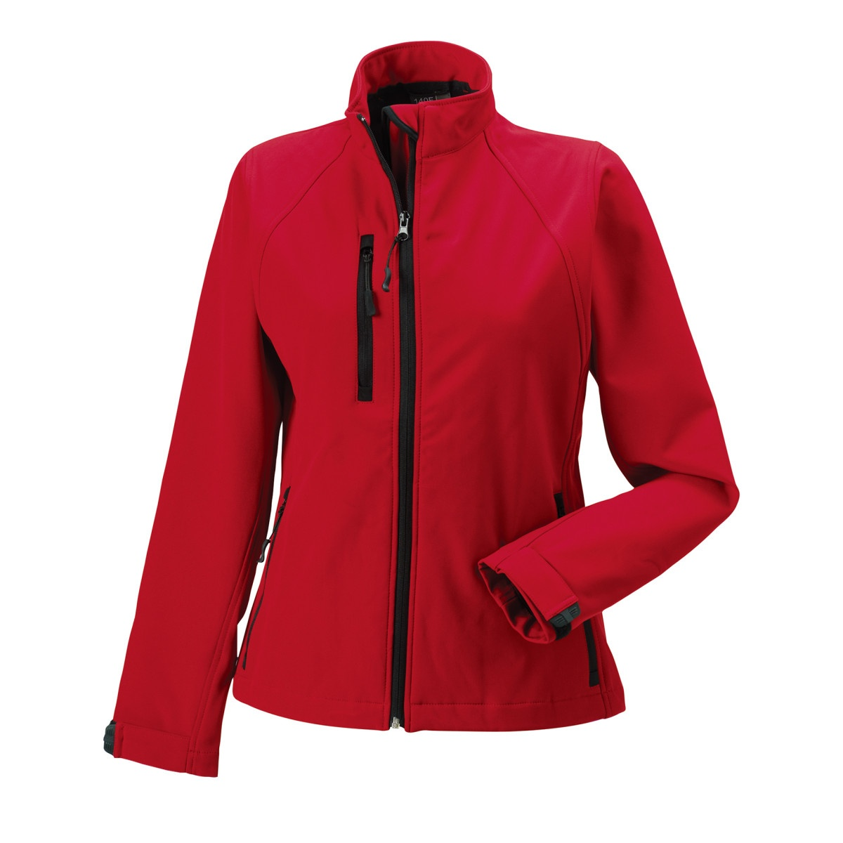 Jerzees Colours Ladies Water Resistant & Windproof Soft Shell Jacket (4XL) (Titanium)