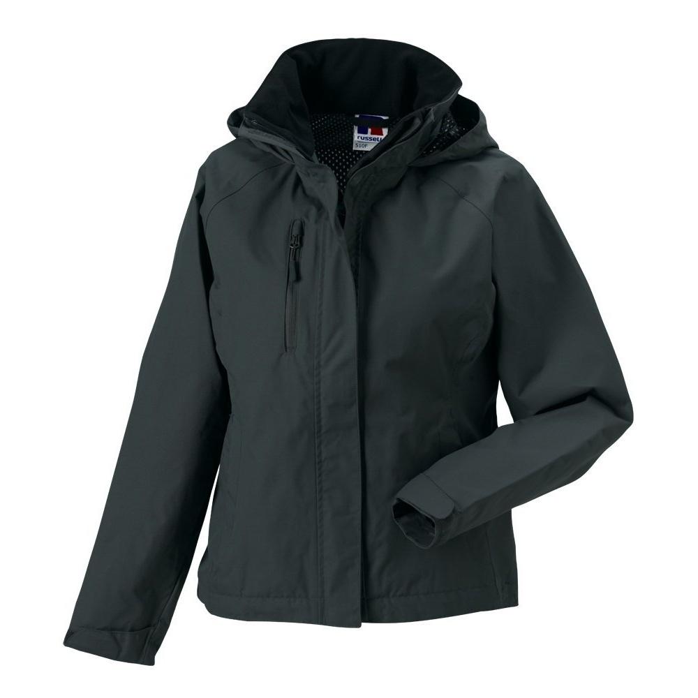 Jerzees Colours Ladies Premium Hydraplus 2000 Waterproof Jacket (XL) (Black)