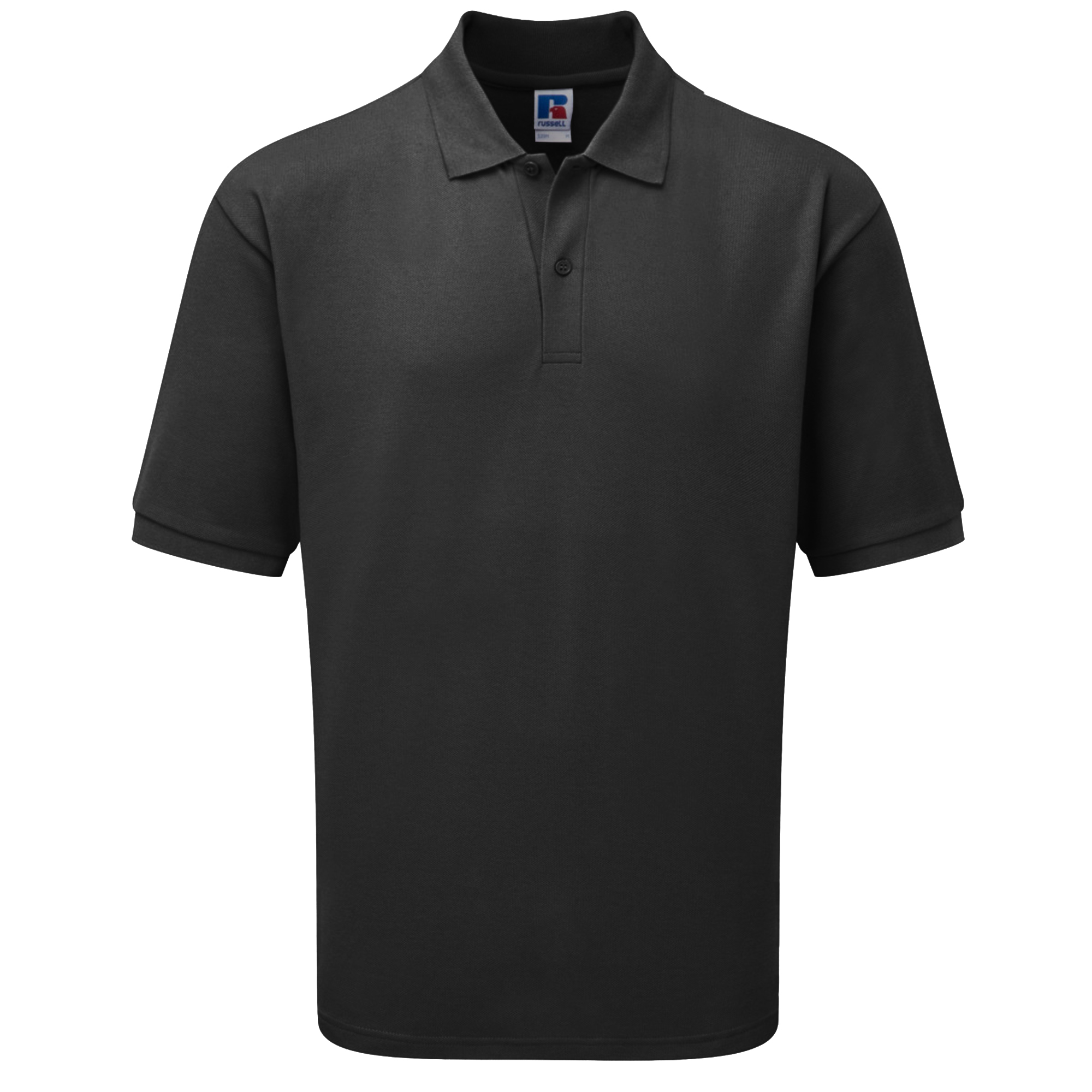 Russell Mens Classic Short Sleeve Polycotton Polo Shirt (3XL) (Light Oxford)