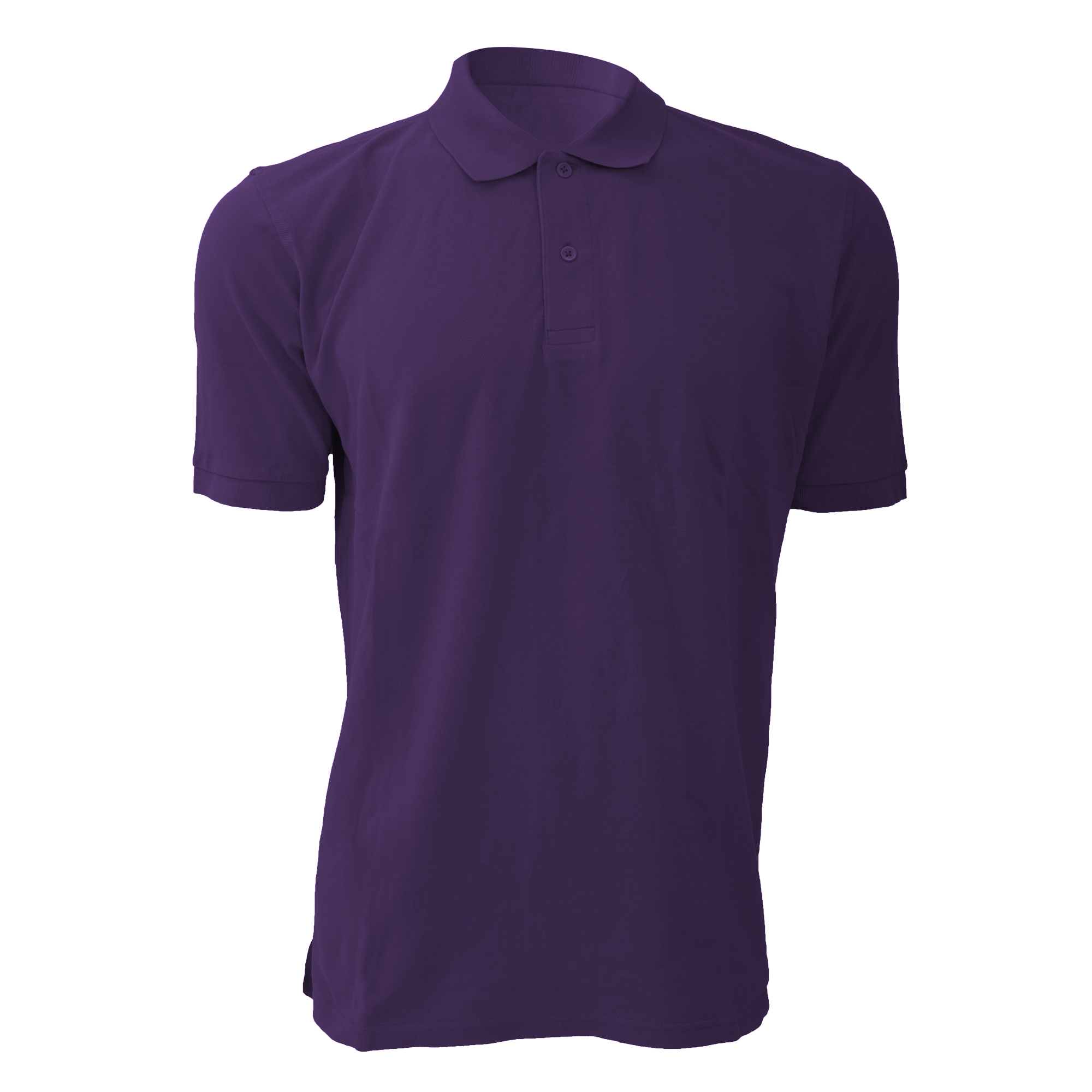 4b79cb4a Jerzees Colours Mens 100 Cotton Short Sleeve Polo Shirt UK Size L Purple.  About this product. Picture 1 of 2; Picture 2 of 2