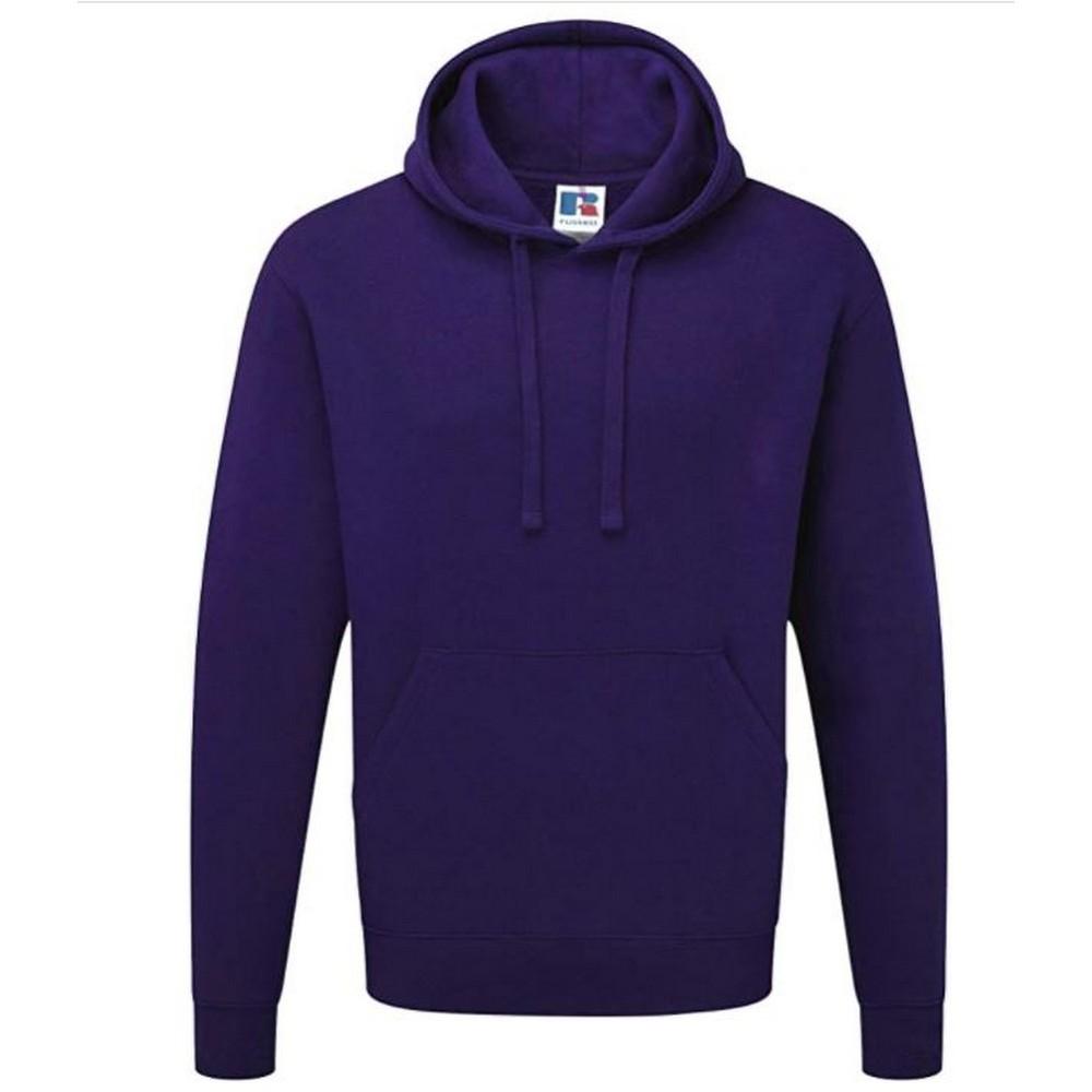 Russell Colour Mens Hooded Sweatshirt Hoodie