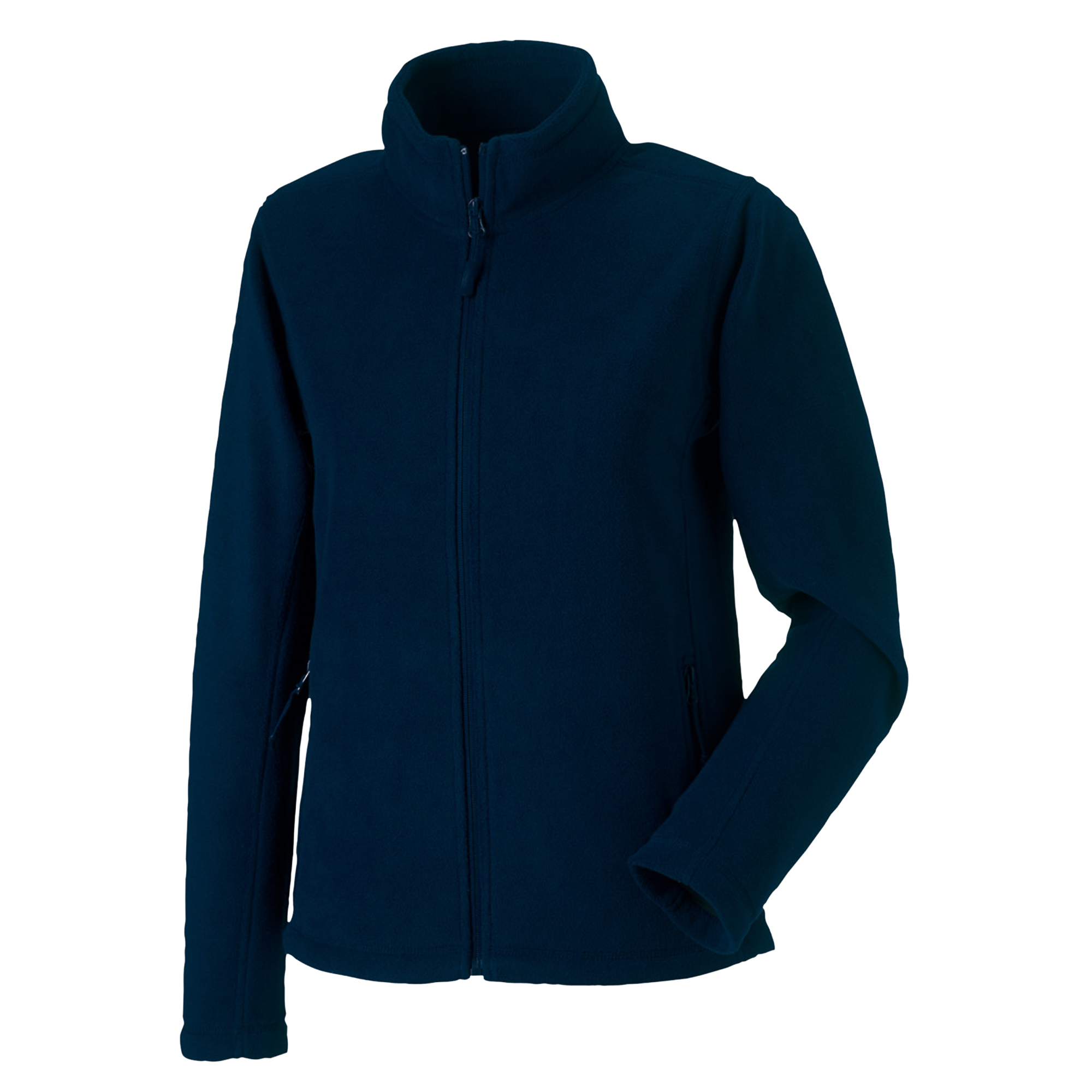 Russell Colours Ladies Full Zip Outdoor Fleece Jacket (2XL) (French Navy)