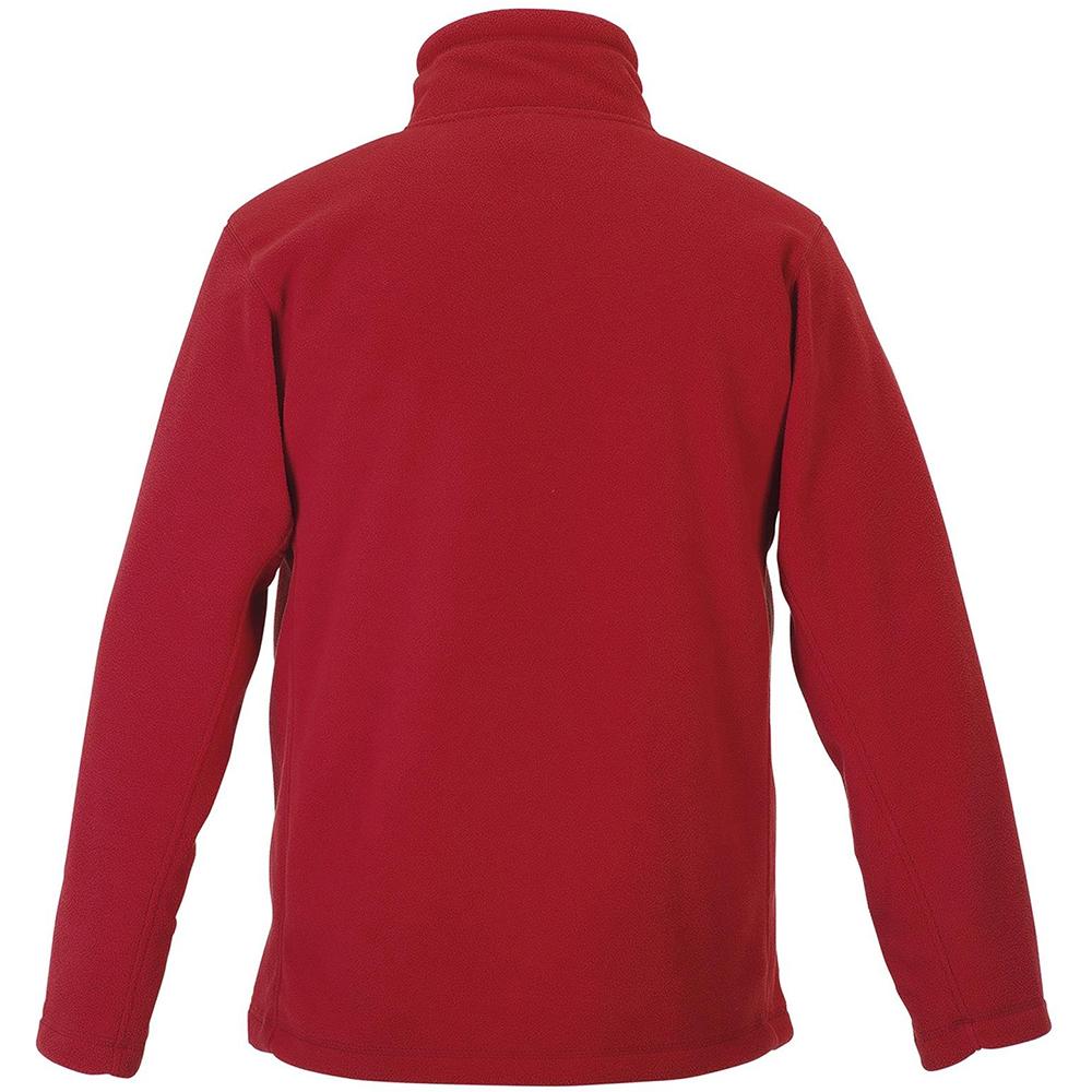 Russell Mens Full Zip Outdoor Fleece Jacket (3XL) (Classic Red)