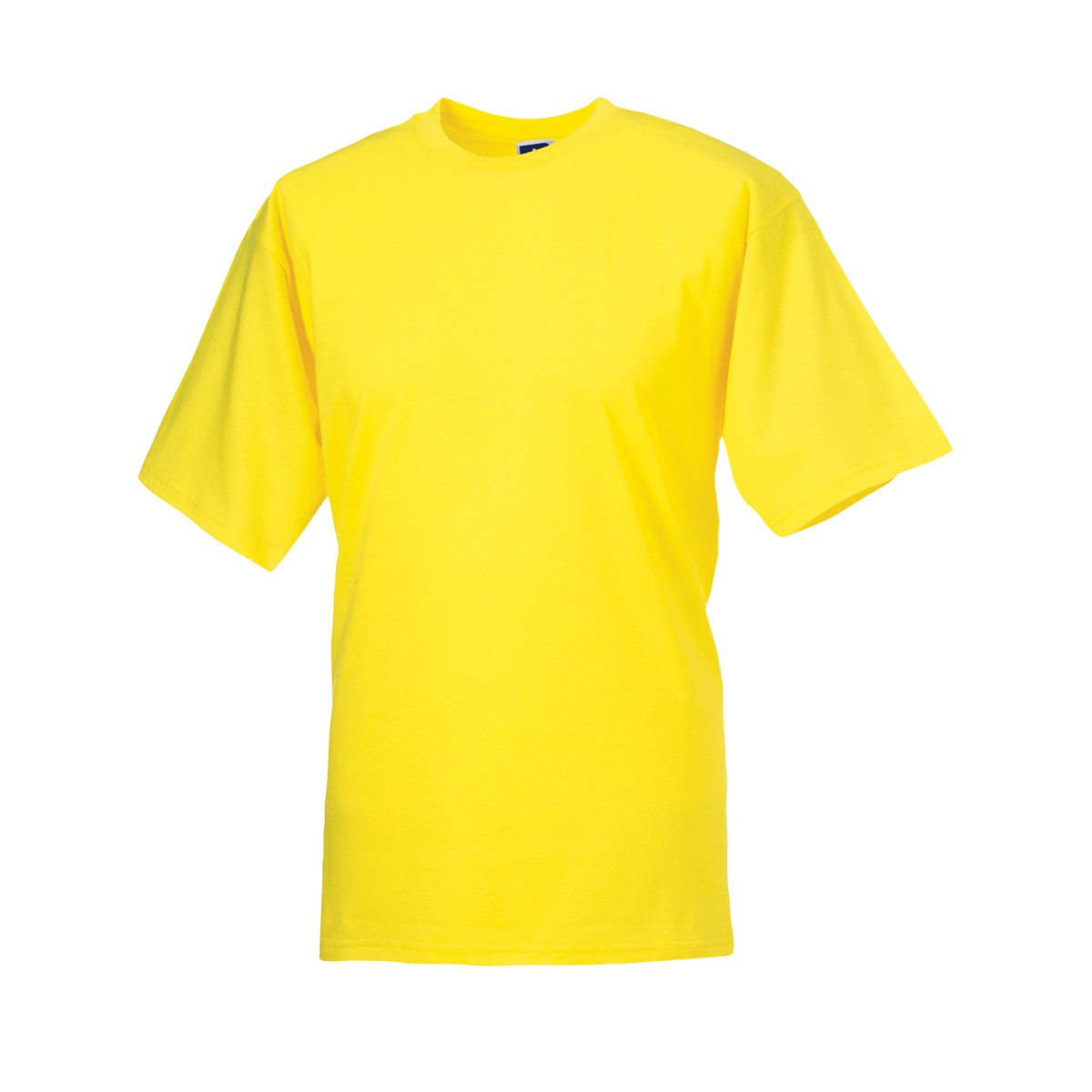 Jerzees Colours Mens Classic Short Sleeve T-Shirt (S) (Yellow)