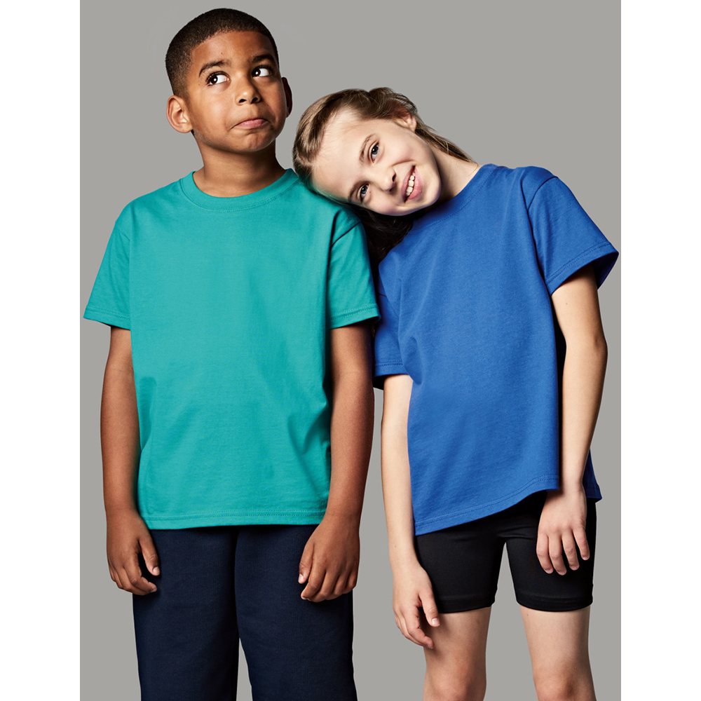BC590 Jerzees Schoolgear Childrens Little Boys Classic Plain T-Shirt