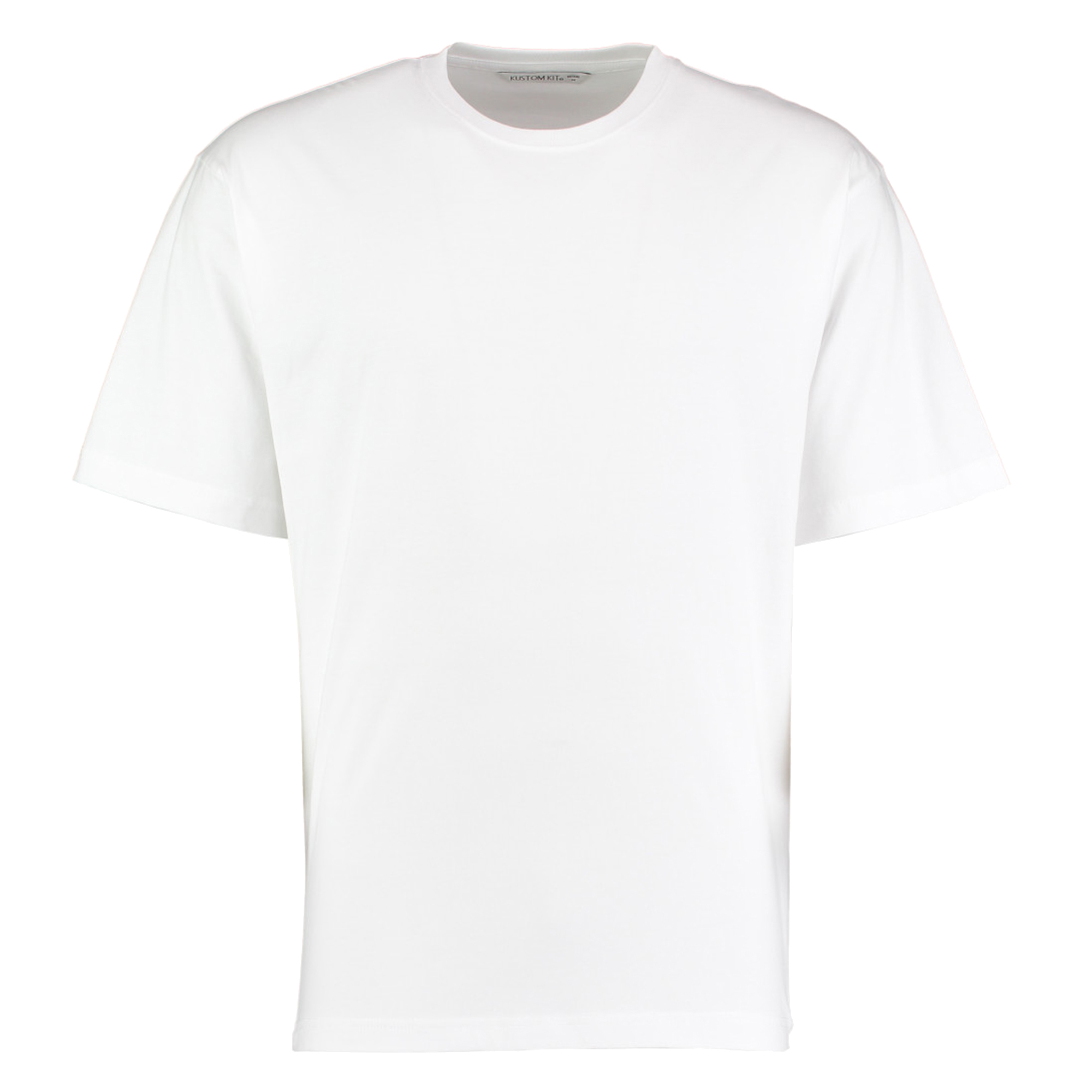 Kustom Kit Hunky Superior Mens Short Sleeve T-Shirt (2XL) (White)