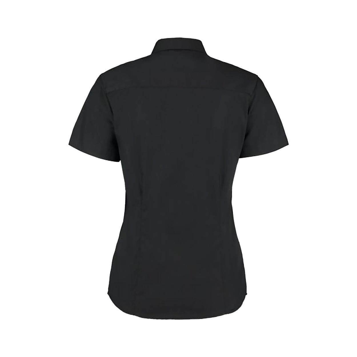 Kustom Kit Ladies Corporate Oxford Short Sleeve Shirt (28) (Midnight Navy)